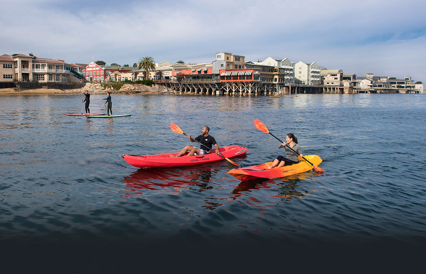 Cannery Row from the Water